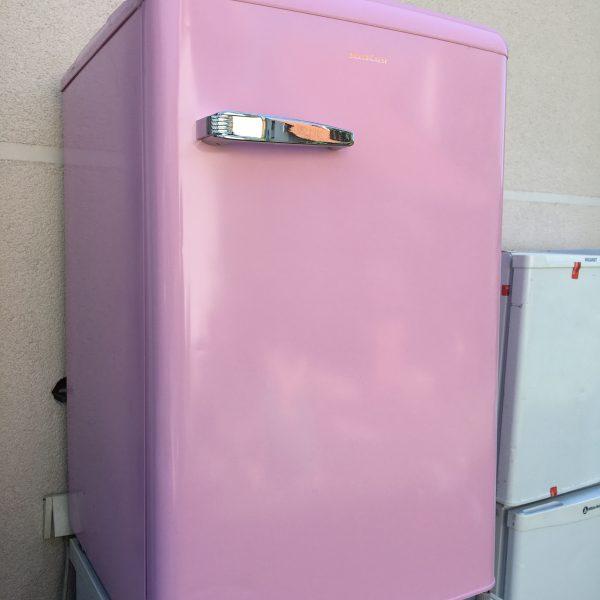 Mali retro rozi frizider